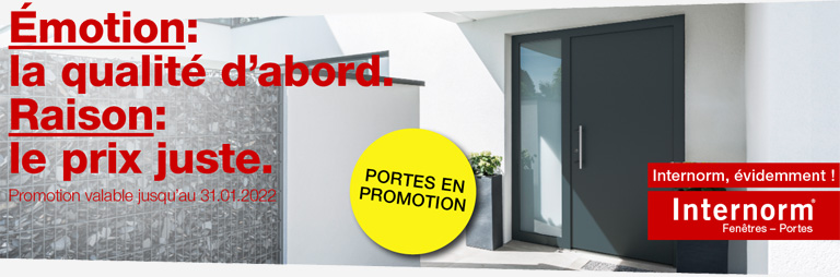 Promotion INTERNORM (porte)